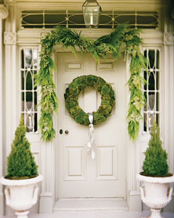 adding natural greenery to your home for a fresh holiday look - Fresh Christmas Greenery